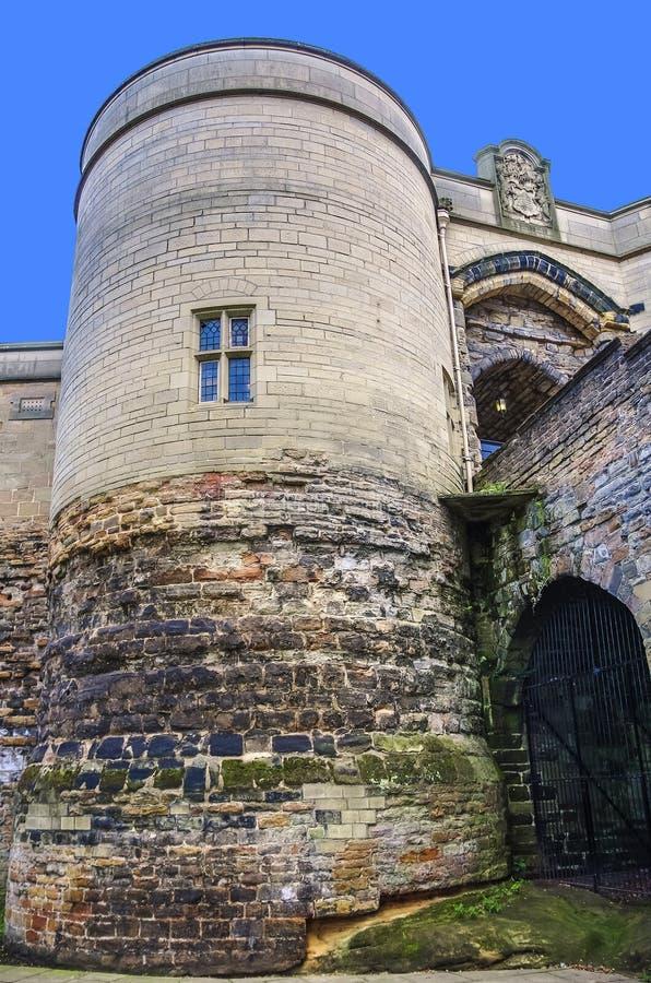 Замок Ноттингема стоковое фото rf