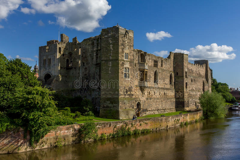 Замок Ньюарка стоковое изображение