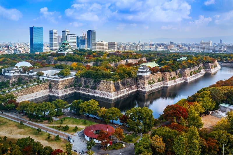 Замок Осака в Осака стоковое изображение