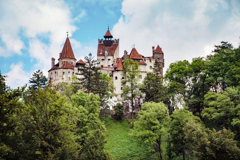 Замок отрубей Дракула средневековый Трансильвании, региона Brasov, Румынии стоковые изображения
