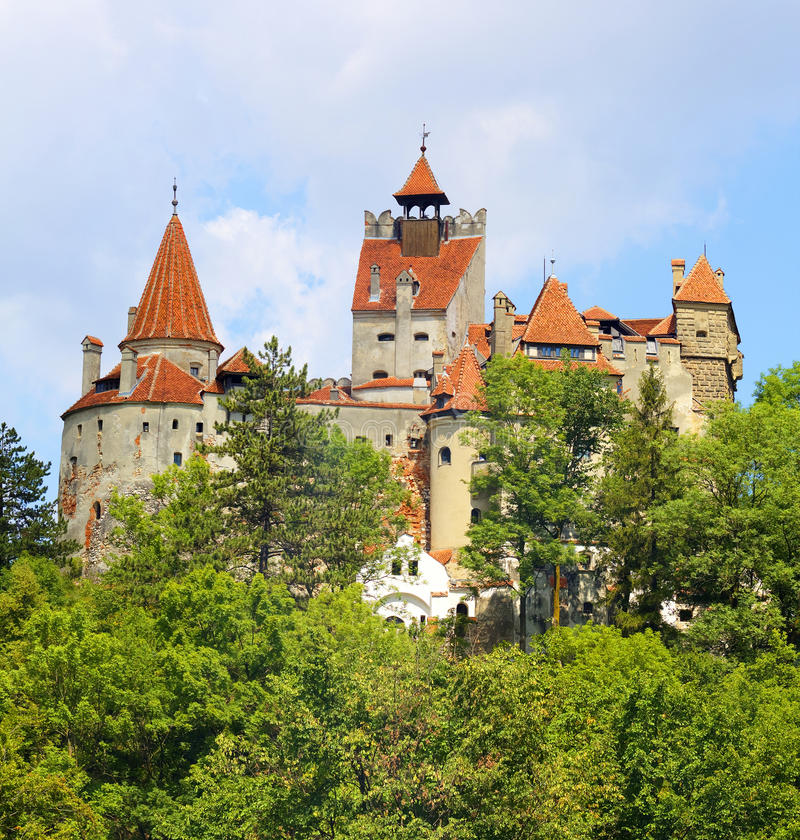 Замок отрубей, Румыния стоковые изображения rf