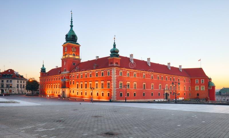 замок Польша королевский warsaw стоковое изображение