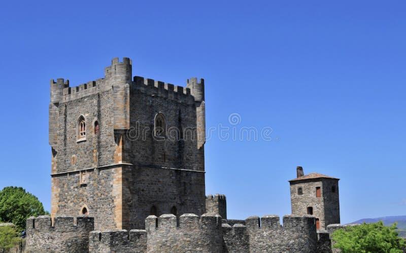 замок Португалия braganca стоковая фотография rf