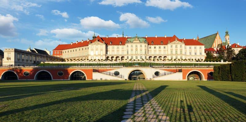 замок Польша королевский warsaw стоковые фотографии rf