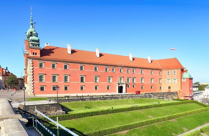 замок Польша королевский warsaw стоковое фото