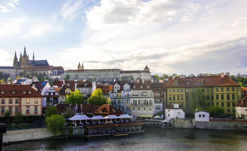 Замок Праги, чехия 2017 стоковая фотография rf