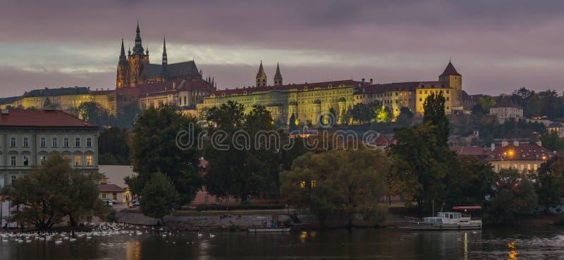 Замок Праги IX стоковое фото rf