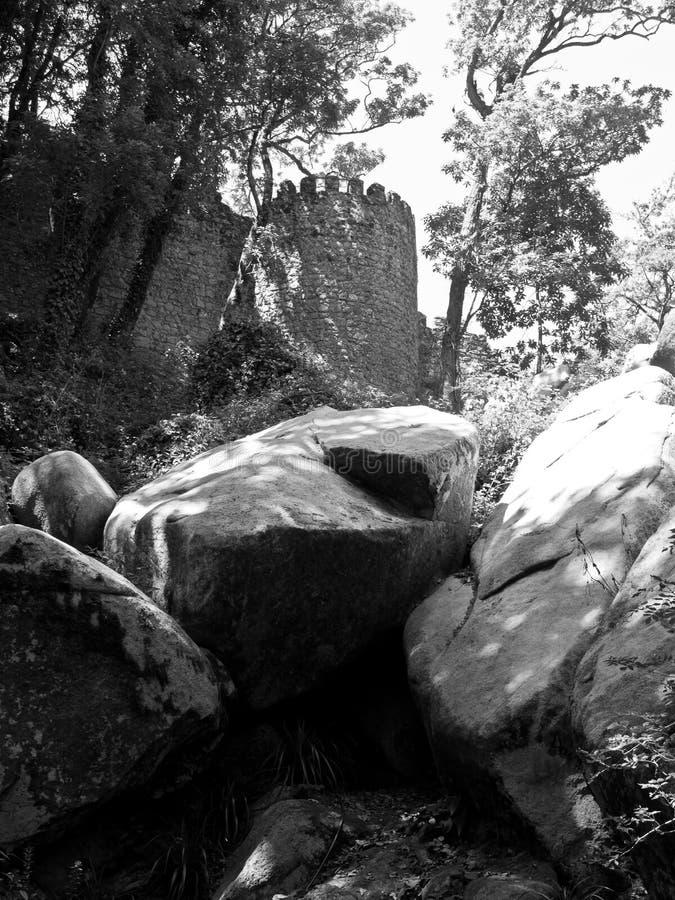 Замок причаливает стоковая фотография