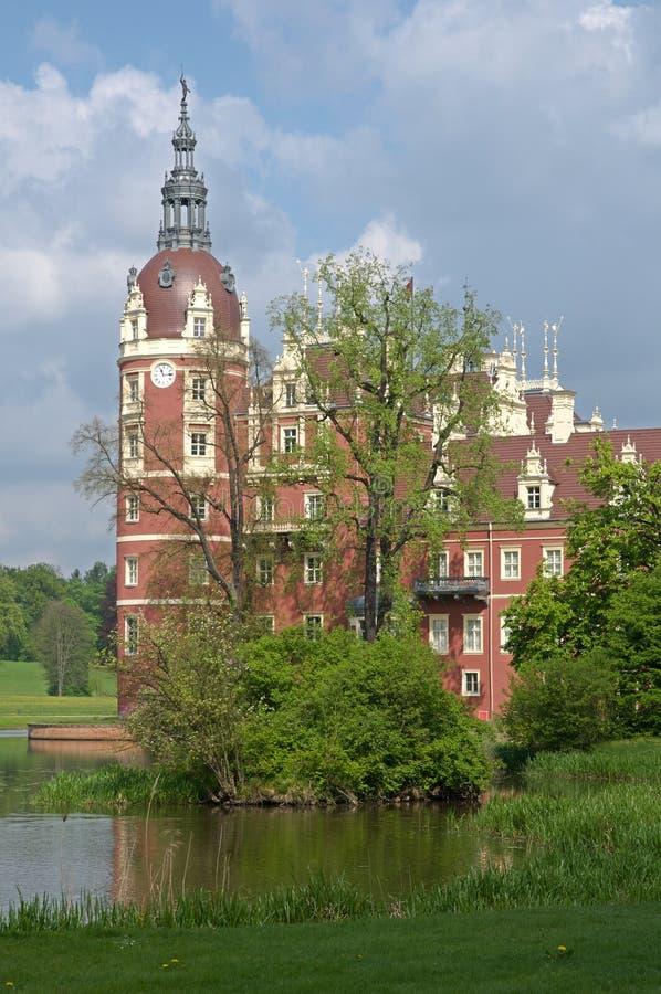 Замок плохое Muskau, Германия стоковые фото