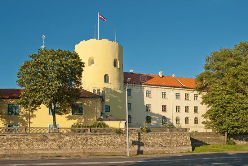 Замок Риги стоковые изображения rf