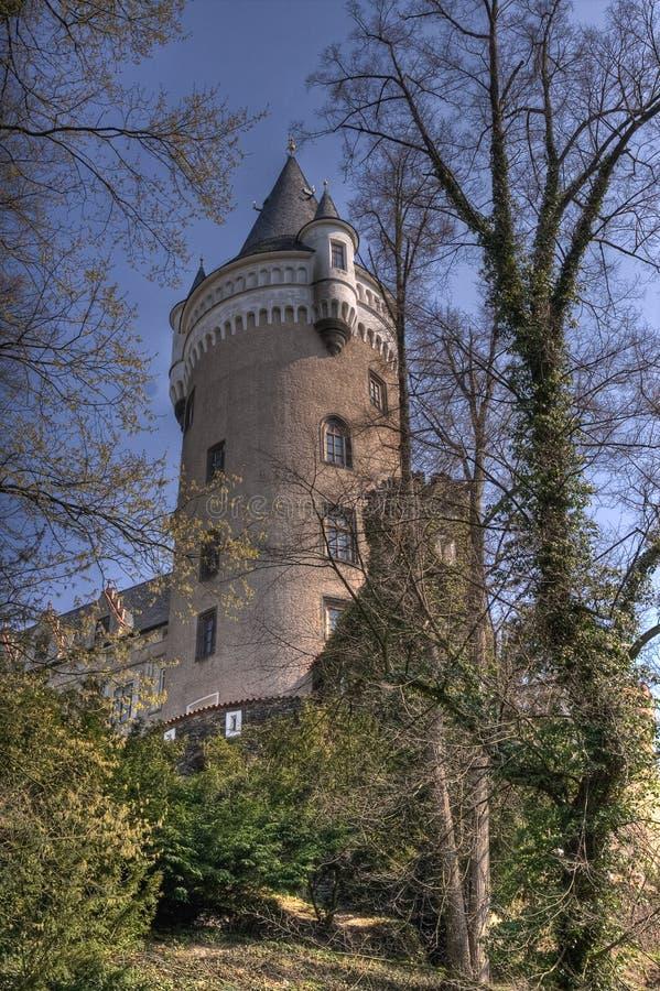 замок романтичный стоковое изображение rf