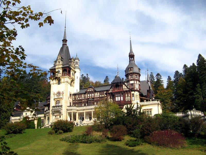 замок Румыния стоковое изображение rf