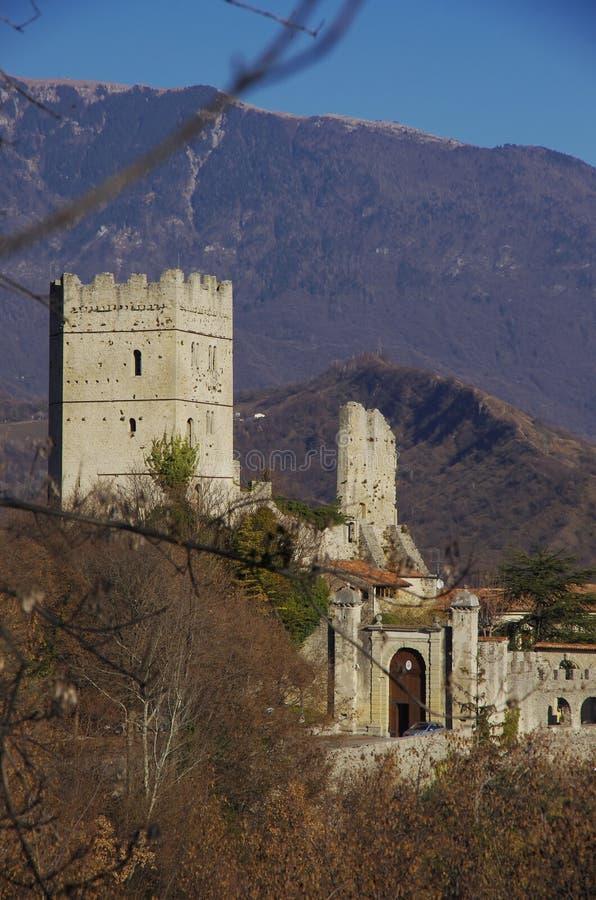 Замок Сан Martino стоковые изображения