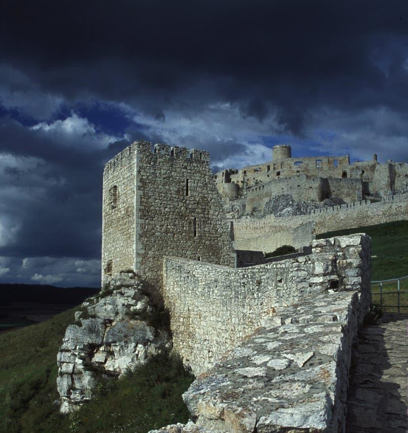 замок Словакия spisky стоковые изображения
