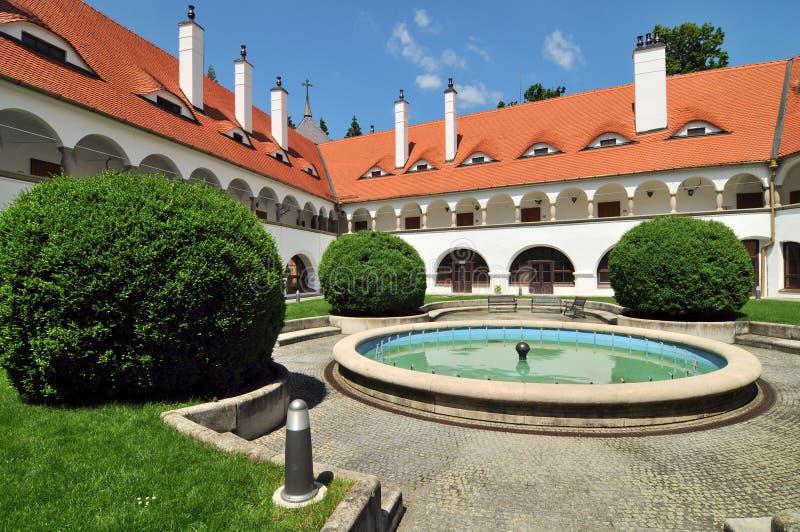 замок Словакия topolcianky стоковые фотографии rf