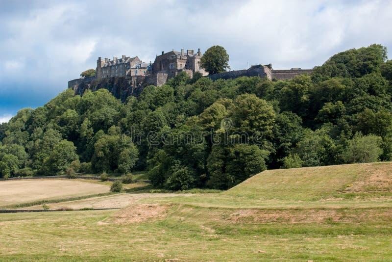 Замок Стерлинга один из самых больших и самых важных замков в Шотландии Шотландии Великобритании Европе стоковые фотографии rf