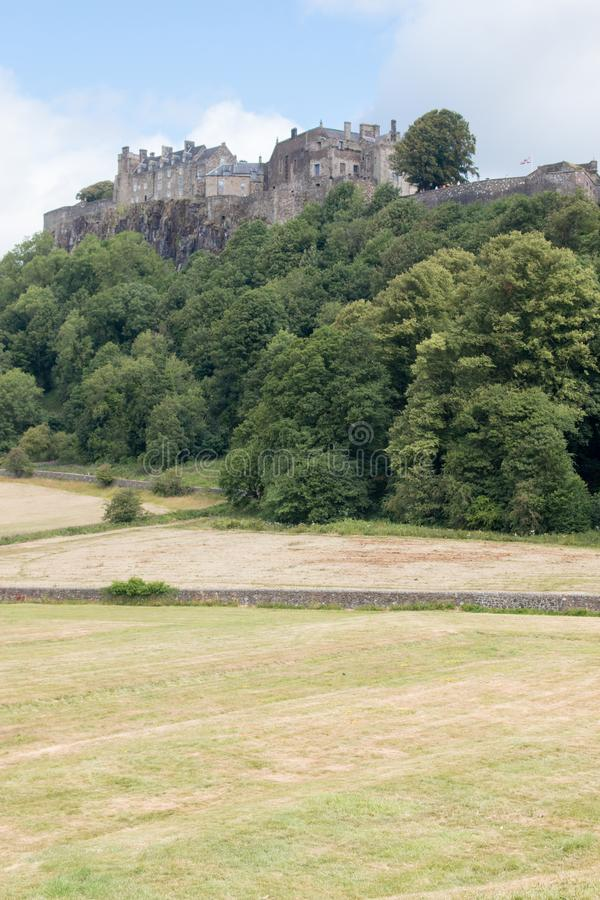 Замок Стерлинга один из самых больших и самых важных замков в Шотландии Шотландии Великобритании Европе стоковые фото