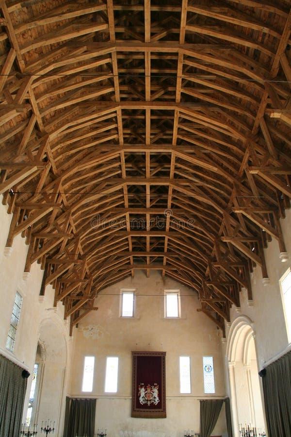 Замок Стерлинга, Шотландия Главная зала стоковые изображения rf