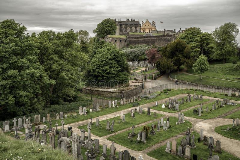 Замок Стерлинга, Шотландия стоковая фотография