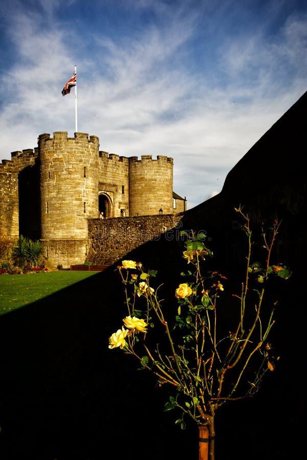 Замок Стерлинга стоковые изображения rf