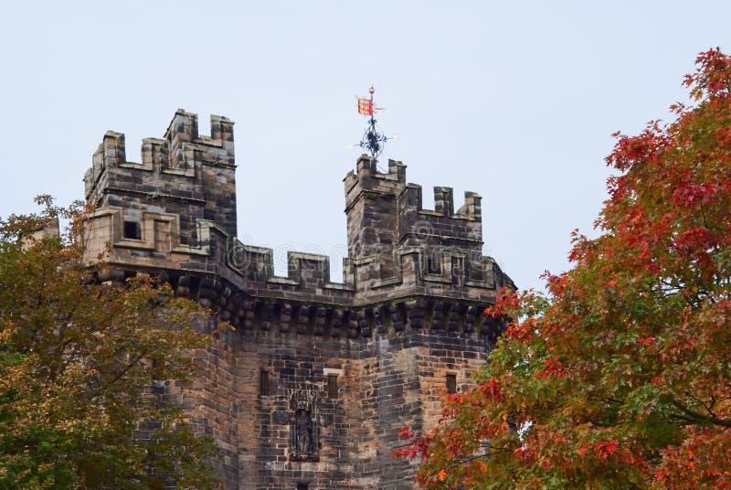 замок стробирует lancaster стоковое изображение rf