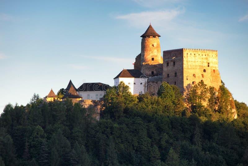 Замок Словакии, Stara Lubovna стоковая фотография rf