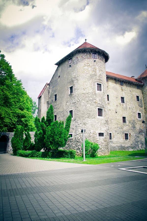 замок Хорватия старая стоковые изображения rf