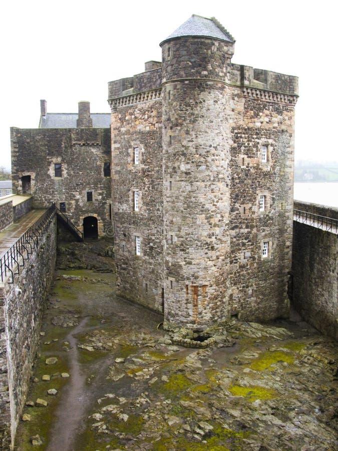 замок черноты 2 стоковая фотография rf