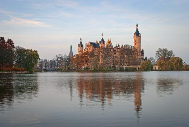 Замок Шверина, Германия стоковые фото