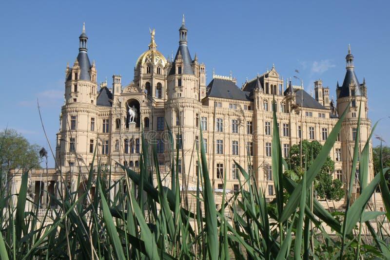 Замок Шверина стоковые изображения