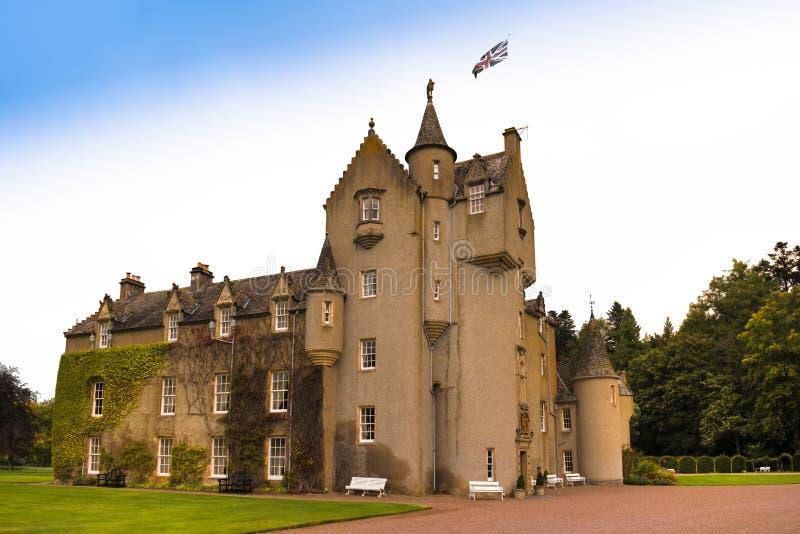 Замок Шотландия Ballindallach стоковые изображения
