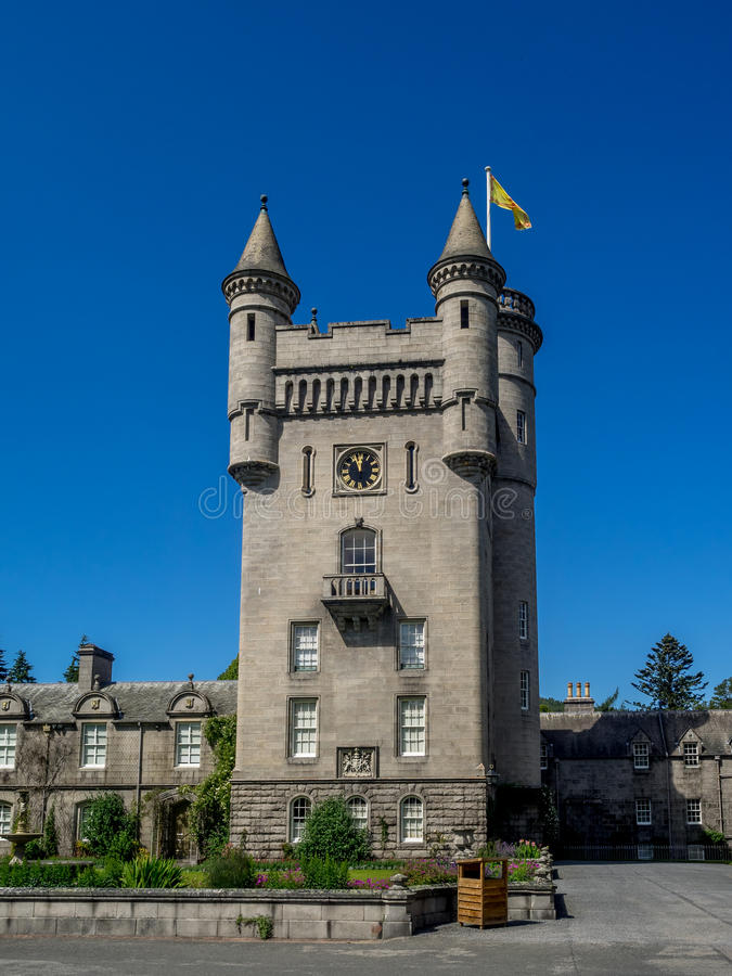 замок Шотландия balmoral стоковое фото rf
