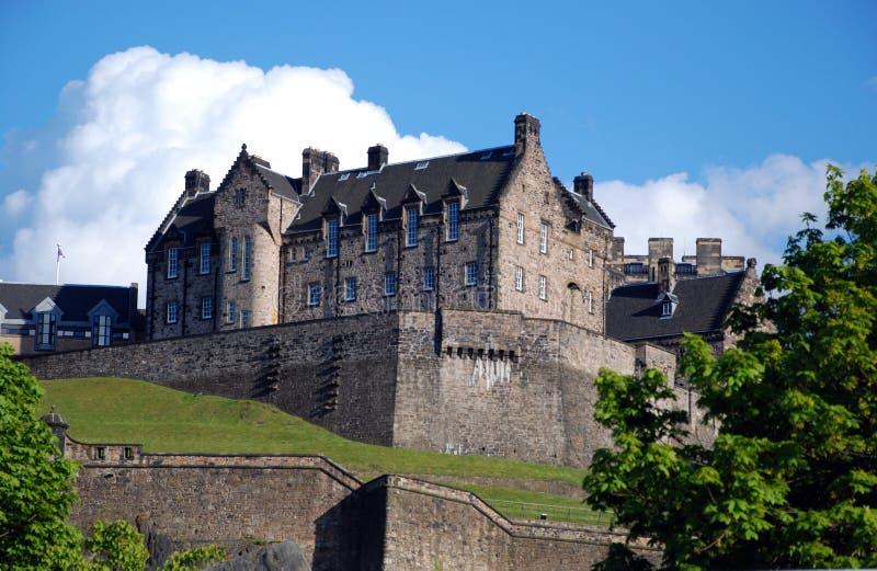Замок Эдинбург стоковые изображения