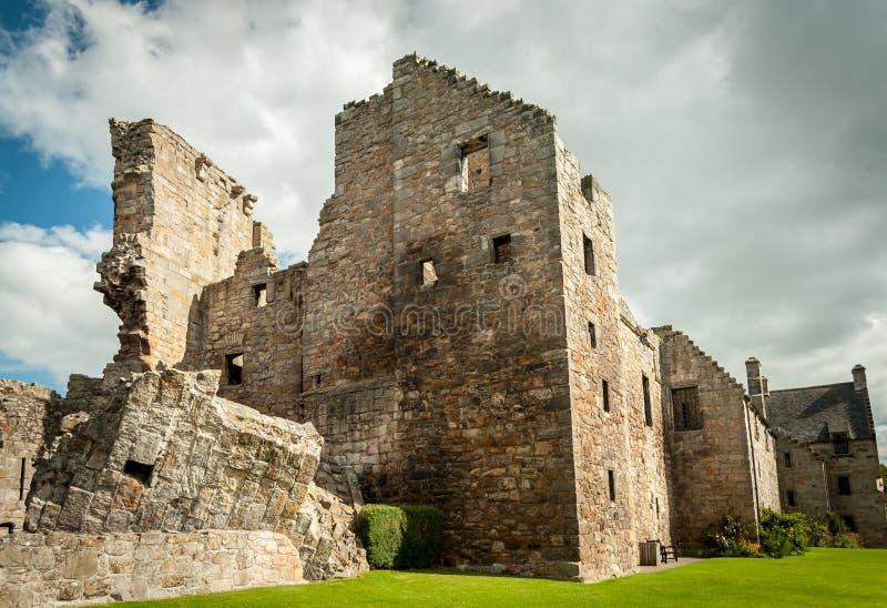 Замок Aberdour стоковые фото
