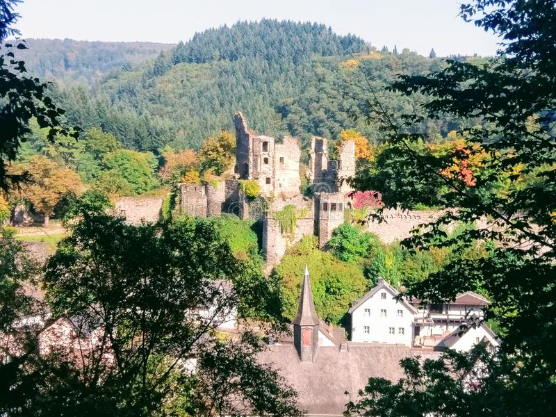 Замок Altwied стоковые фото