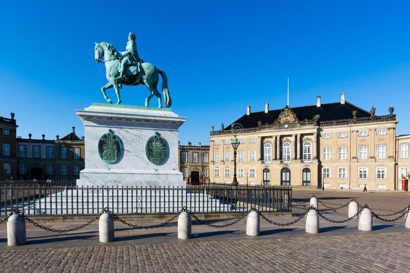 Замок Amalienborg стоковое фото rf