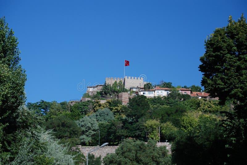 замок ankara стоковое изображение