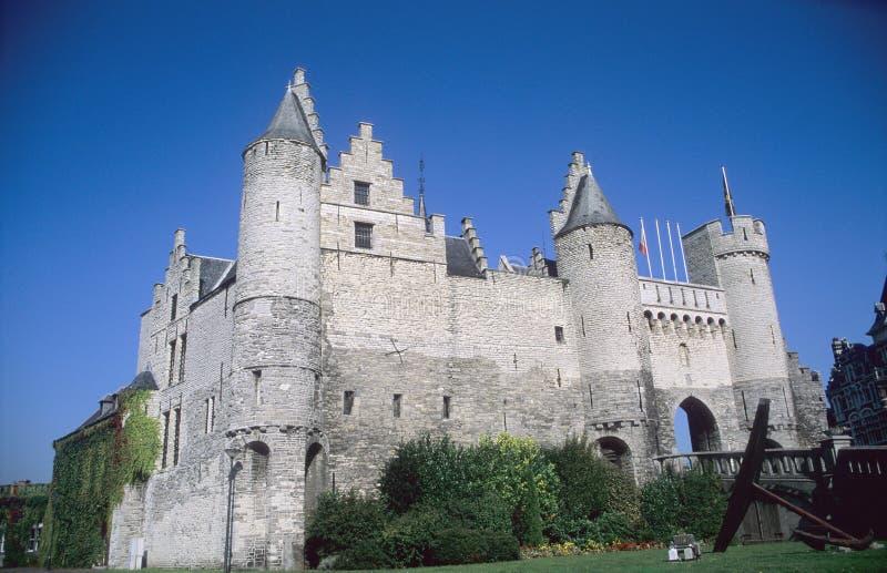 замок antwerp стоковые изображения rf