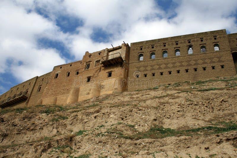 замок arbil стоковая фотография rf