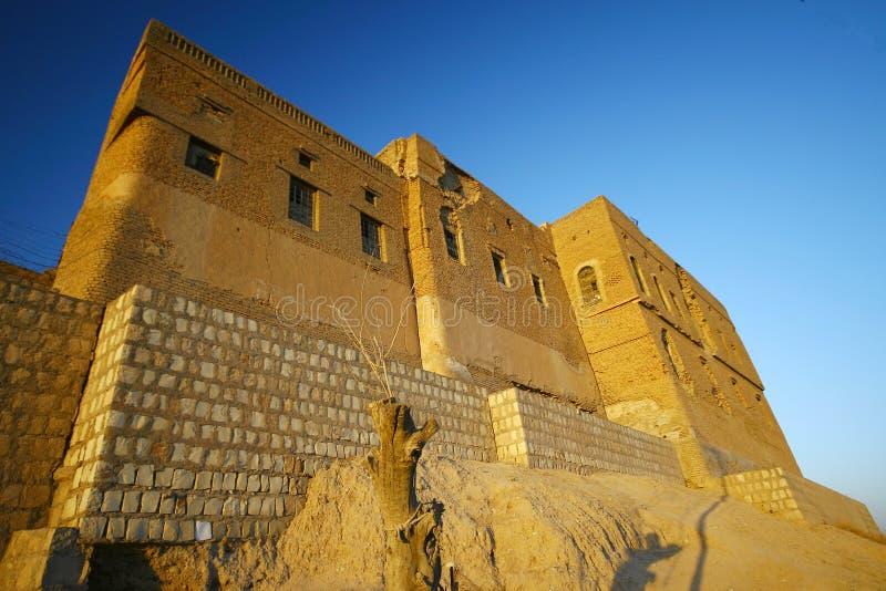 замок arbil стоковые изображения