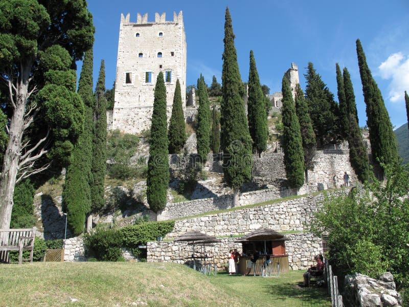 Замок, Arco, Италия стоковые изображения