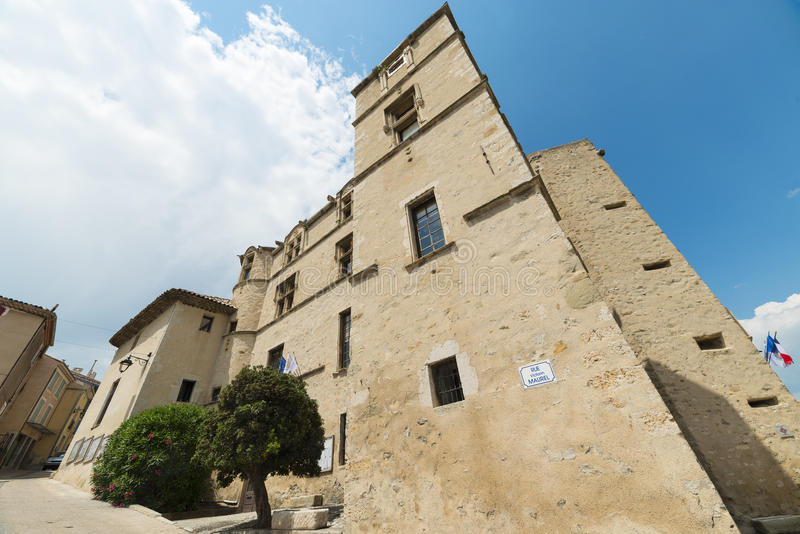 Замок-Arnoux стоковые изображения