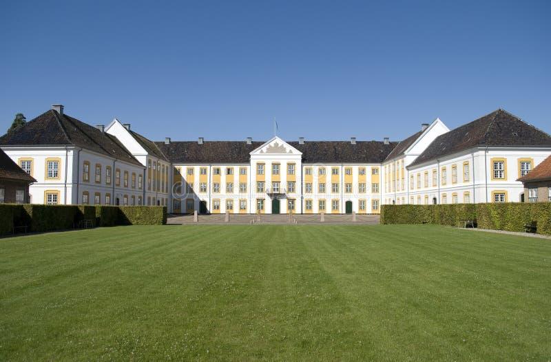 замок augustenborg стоковые фото