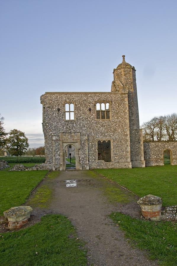 Замок Baconsthorpe стоковое изображение
