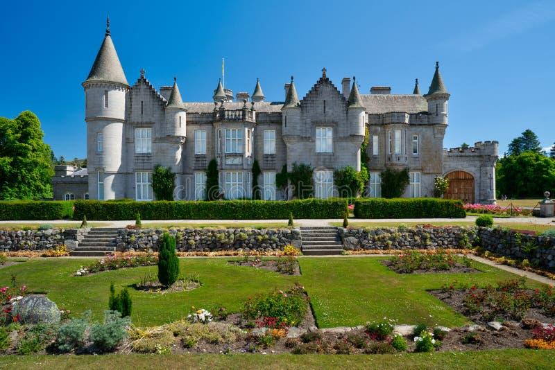 Замок Balmoral, королевская резиденция, Шотландия стоковая фотография rf