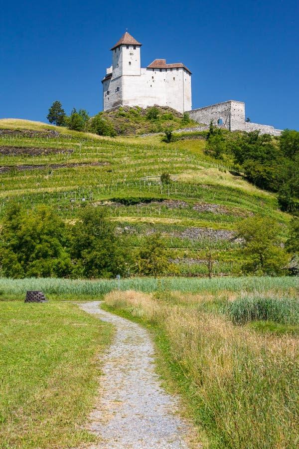 Замок Balzers стоковое фото