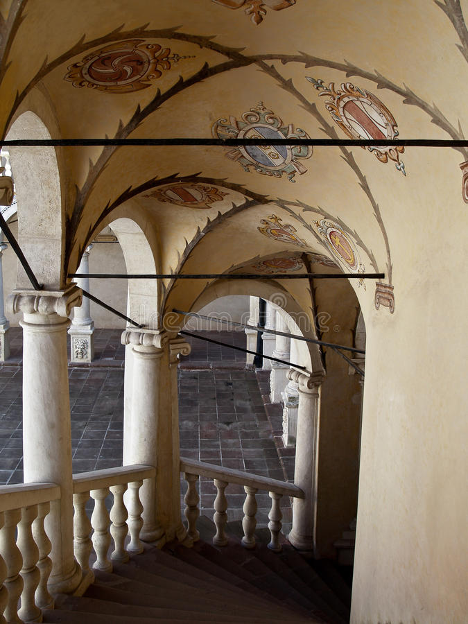 Замок Baranow Sandomierski, Польша стоковое фото