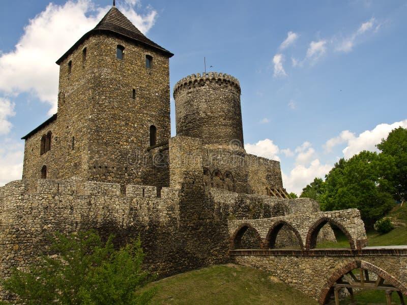 Замок Bedzin стоковые фото