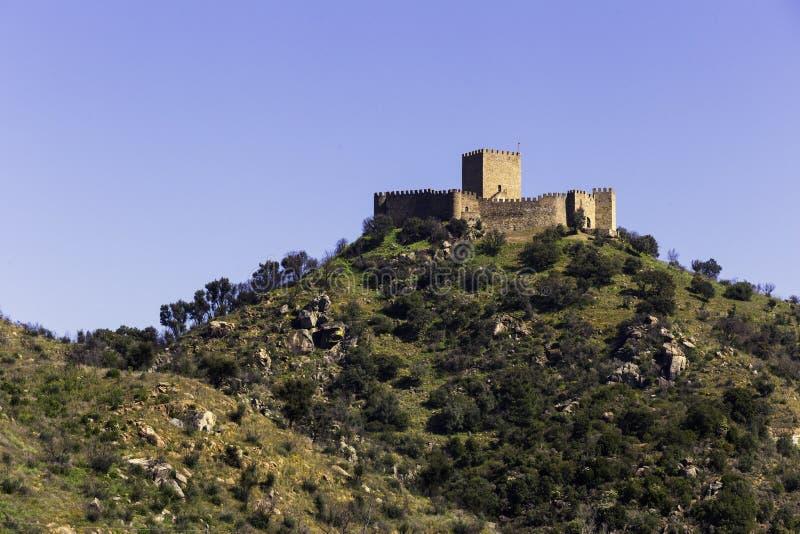 Замок Belver стоковое изображение