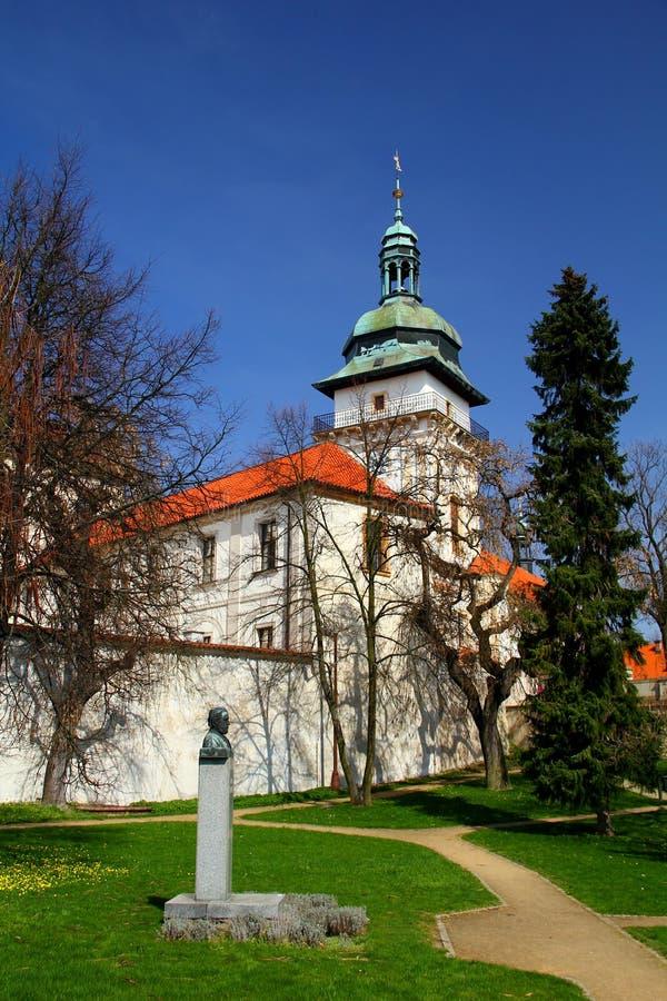 Замок Benatky nad Jizerou, Богемия, чехия стоковая фотография rf